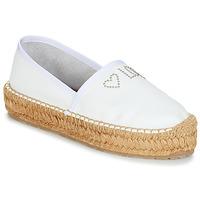 Παπούτσια Γυναίκα Εσπαντρίγια Love Moschino JA10163G07 Άσπρο