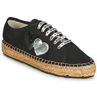 Παπούτσια Γυναίκα Εσπαντρίγια Love Moschino JA10263G07 Black