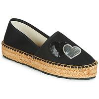 Παπούτσια Γυναίκα Εσπαντρίγια Love Moschino JA10243G07 Black
