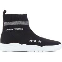 Παπούτσια Γυναίκα Ψηλά Sneakers Chiara Ferragni CF1948 BLACK nero
