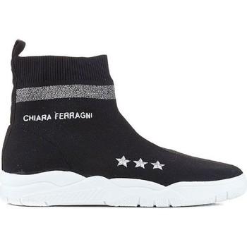 Ψηλά Sneakers Chiara Ferragni CF1948 BLACK