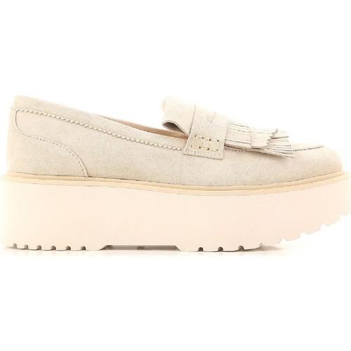 Παπούτσια Γυναίκα Μοκασσίνια Hogan HXW3550AF10CR0M024 beige