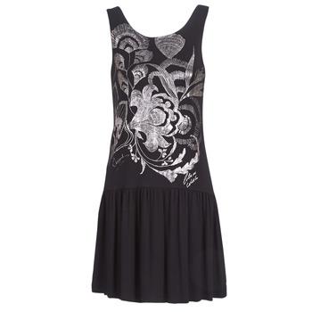Υφασμάτινα Γυναίκα Κοντά Φορέματα Desigual OMAHAS Black