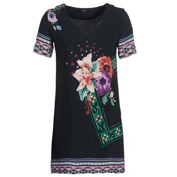 Υφασμάτινα Γυναίκα Κοντά Φορέματα Desigual BARTA Black
