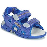 Παπούτσια Αγόρι Σπορ σανδάλια Mod'8 TRIBATH Μπλέ
