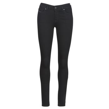 Υφασμάτινα Γυναίκα Skinny jeans Diesel SLANDY Black / 069ef