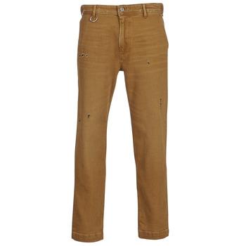 Υφασμάτινα Άνδρας Παντελόνια Chino/Carrot Diesel P MADOX DNM Camel