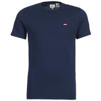 Υφασμάτινα Άνδρας T-shirt με κοντά μανίκια Levi's SS ORIGINAL HM TEE Marine