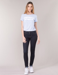 Υφασμάτινα Γυναίκα Skinny jeans Levi's 721 HIGH RISE SKINNY To / The / Nine