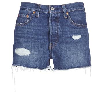 Shorts & Βερμούδες Levis 502 HIGH RISE SHORT Σύνθεση: Βαμβάκι