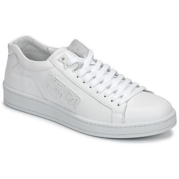 Παπούτσια Άνδρας Χαμηλά Sneakers Kenzo TENNIX Άσπρο