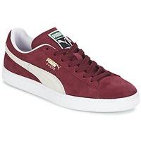 Παπούτσια Χαμηλά Sneakers Puma SUEDE CLASSIC Red / άσπρο