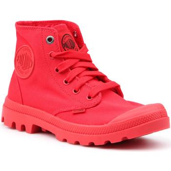 Παπούτσια Γυναίκα Ψηλά Sneakers Palladium Mono Chrome 73089-600-M red