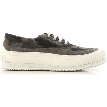 Παπούτσια Άνδρας Χαμηλά Sneakers Hogan HXM2580AF90ITJ0QC3 color Mimetico