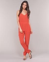 Υφασμάτινα Γυναίκα Ολόσωμες φόρμες / σαλοπέτες See U Soon GARAGAI Red