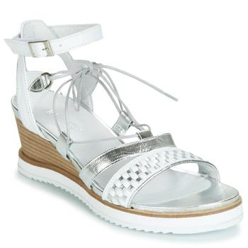 Παπούτσια Γυναίκα Σανδάλια / Πέδιλα Regard RAXAF V1 TRES ALFA BLANC Άσπρο