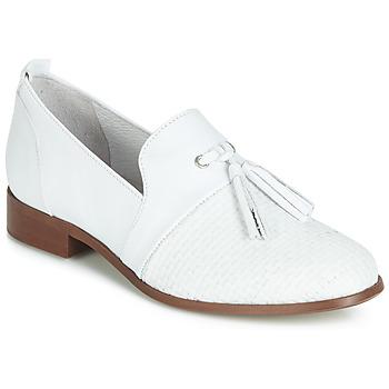 Παπούτσια Γυναίκα Derby Regard REVA V1 TRES NAPPA BLANC Άσπρο