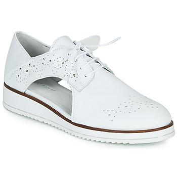 Παπούτσια Γυναίκα Derby Regard RIXAMU V1 NAPPA BLANC Black