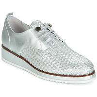 Παπούτσια Γυναίκα Derby Regard RIXIZA V2 TRES METALCRIS PLATA Silver