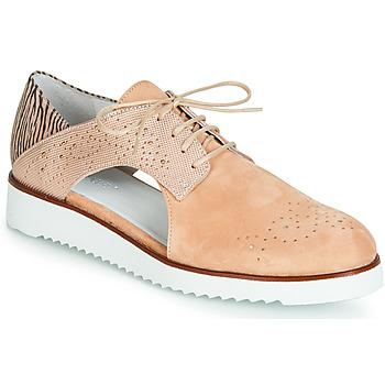 Παπούτσια Γυναίκα Derby Regard RIXULO V1 VEL ROSE Ροζ