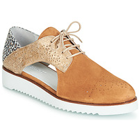 Παπούτσια Γυναίκα Derby Regard RIXULO V3 VEL CAMEL Brown