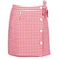 Υφασμάτινα Γυναίκα Φούστες Betty London KRAKAV Red / Άσπρο