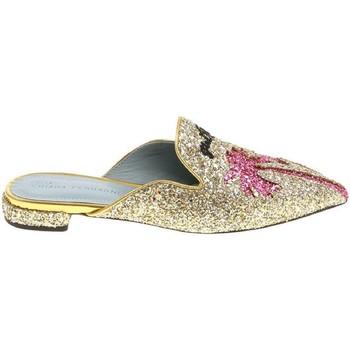 Παπούτσια Γυναίκα Σαμπό Chiara Ferragni CF1842 GLITTER ORO oro
