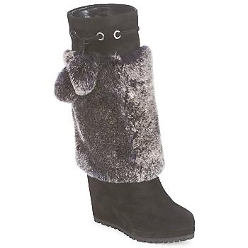 Παπούτσια Γυναίκα Μπότες για την πόλη Sebastian NIGOK Black