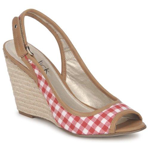 Παπούτσια Γυναίκα Σανδάλια / Πέδιλα StylistClick INES Jude / Naturel / Red