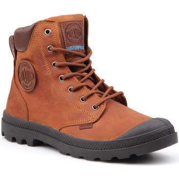 Παπούτσια Άνδρας Μπότες Palladium Pampa Cuff WP Lux 73231-733-M brown