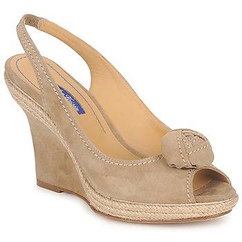 Παπούτσια Γυναίκα Σανδάλια / Πέδιλα Atelier Voisin ALIX TAUPE