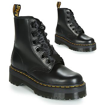 Παπούτσια Γυναίκα Μπότες Dr Martens Molly Black