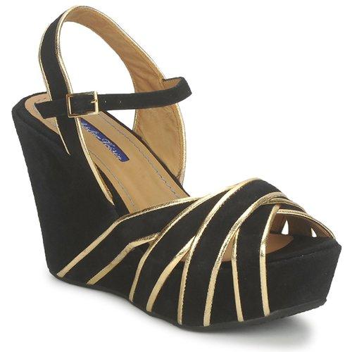 Παπούτσια Γυναίκα Σανδάλια / Πέδιλα Atelier Voisin FACTOR Black
