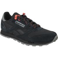 Παπούτσια Παιδί Χαμηλά Sneakers Reebok Sport Classic Leather Noir