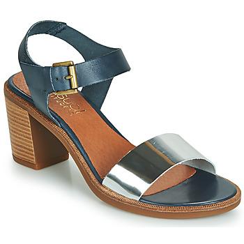 Παπούτσια Γυναίκα Σανδάλια / Πέδιλα Casual Attitude JALAYEVE Μπλέ / Silver