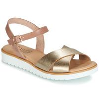 Παπούτσια Γυναίκα Σανδάλια / Πέδιλα Casual Attitude JALAYEDE Ροζ / Gold