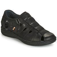 Παπούτσια Άνδρας Σανδάλια / Πέδιλα Casual Attitude ZIRONDEL Black