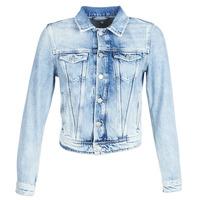 Υφασμάτινα Γυναίκα Τζιν Μπουφάν/Jacket  Pepe jeans CORE Μπλέ /  clair / Md0