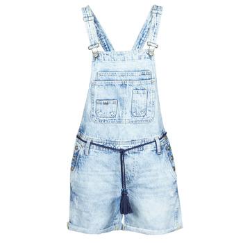 Υφασμάτινα Γυναίκα Ολόσωμες φόρμες / σαλοπέτες Pepe jeans ABBY Μπλέ