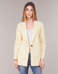 Υφασμάτινα Γυναίκα Σακάκι / Blazers Oakwood OSLO Yellow /  clair