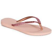 Παπούτσια Γυναίκα Σαγιονάρες Havaianas SLIM GLITTER Ροζ