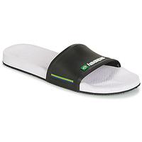Παπούτσια Άνδρας σαγιονάρες Havaianas SLIDE BRASIL άσπρο:μαύρο