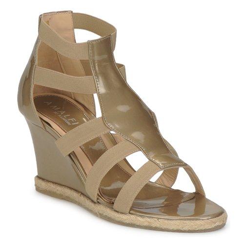 Παπούτσια Γυναίκα Σανδάλια / Πέδιλα Amalfi by Rangoni LEMA Vernice / Taupe