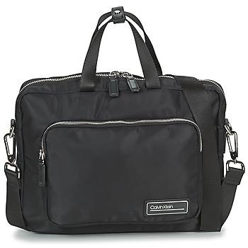 Τσάντες Άνδρας Χαρτοφύλακες Calvin Klein Jeans PRIMARY 1 GUSSET LAPTOP BAG Black