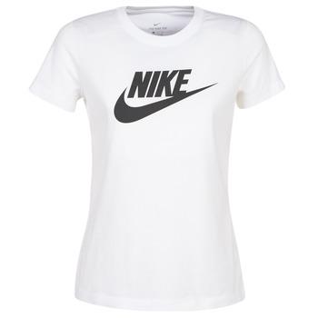 Υφασμάτινα Γυναίκα T-shirt με κοντά μανίκια Nike NIKE SPORTSWEAR Άσπρο