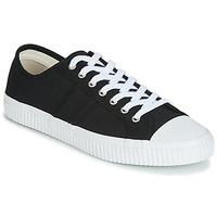 Παπούτσια Άνδρας Χαμηλά Sneakers Jim Rickey TROPHY Black / Άσπρο