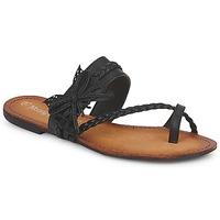 Παπούτσια Γυναίκα Σαγιονάρες Moony Mood LILIANA Black