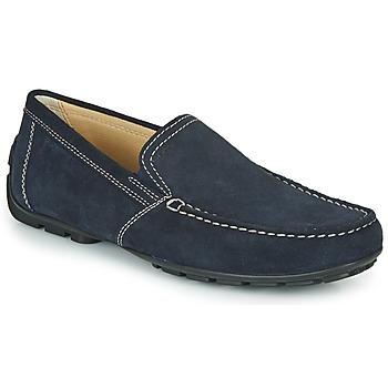 Παπούτσια Άνδρας Μοκασσίνια Geox MONET Μπλέ