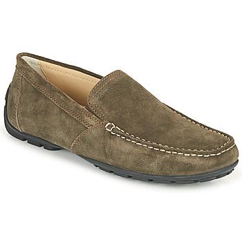 Παπούτσια Άνδρας Μοκασσίνια Geox MONET COFFEE