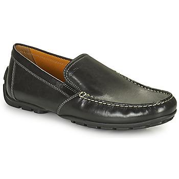Παπούτσια Άνδρας Μοκασσίνια Geox MONET Black